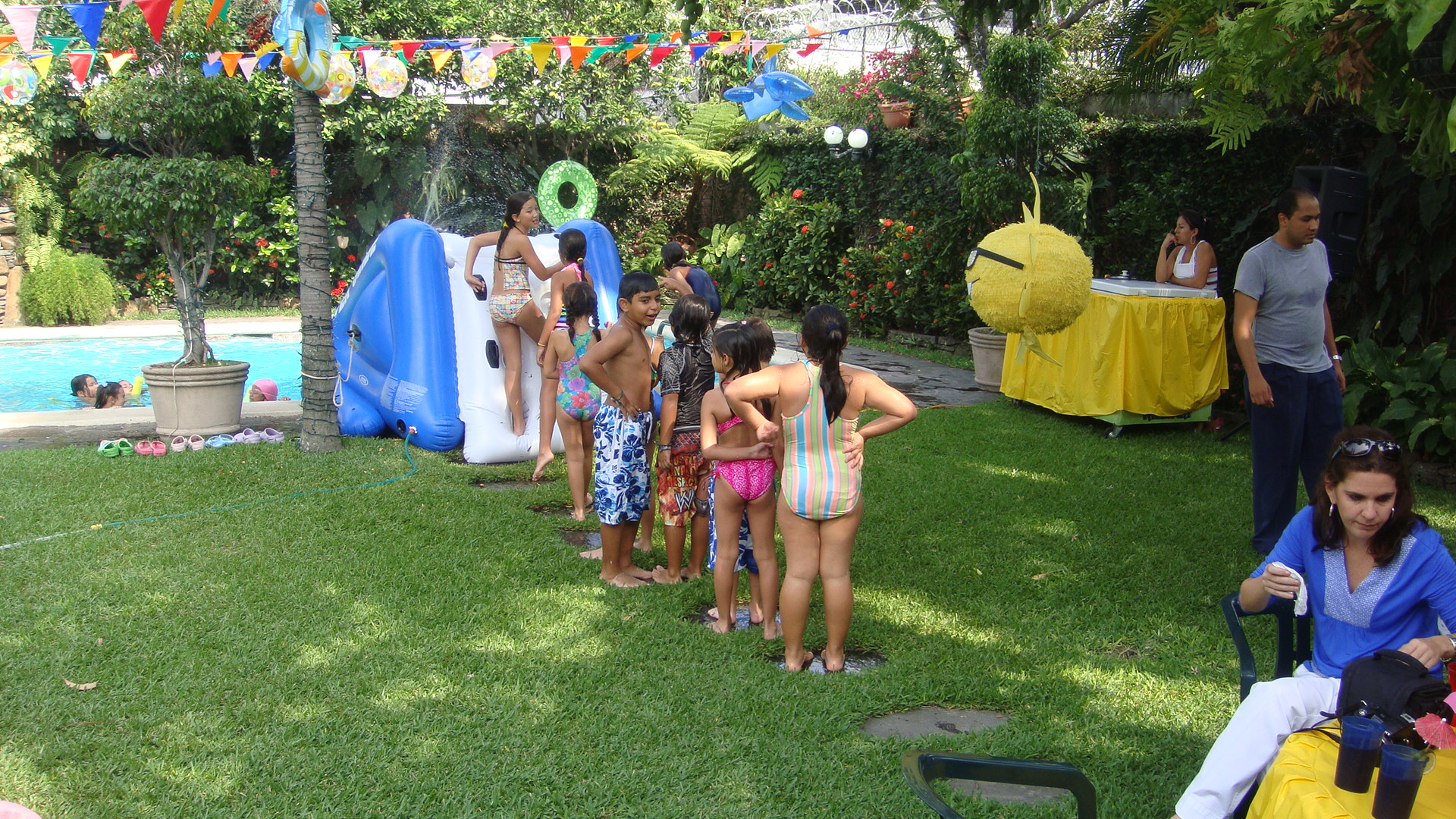 Ideas for a Cool Sunny Pool Party